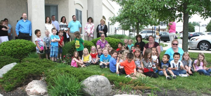 50 years of head start rose bush dedication