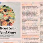 Head Start Programs are Federally Funded Programs